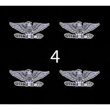 Amazon Com Air Force Usaf Rank Colonel 3 4 Four Decal Sticker Lot Automotive