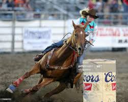 Jimmie Smith scored a 17.60 during the PRCA Pro Rodeo Barrel Racing... News  Photo - Getty Images