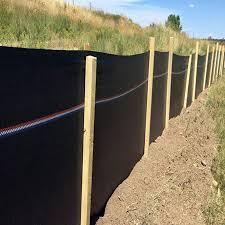 Orion Erosion Control Regular Commercial Grade Silt Fence