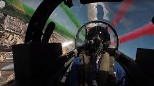 Experience The Frecce Tricolori's Rome Flyover In This Stunning 4k ...