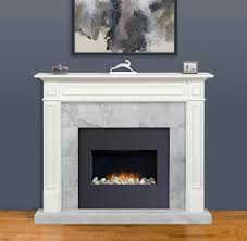 pearl mantels the mike 48 white