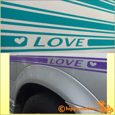 Love 2 Strip Decal Made From High Quality Weatherproof Vinyl