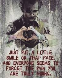 joker quotes just put a little smile joker quotes