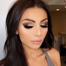 natural glamour eye makeup saubhaya