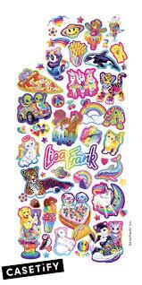 Lisafrank Casetify Collaboration Iphone Case Art Design Illustrations Cool Wallpaper Cute Rainb Lisa Frank Stickers Lisa Frank Iphone Case Stickers