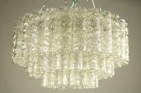 vintage pyramic tubular shaped glass