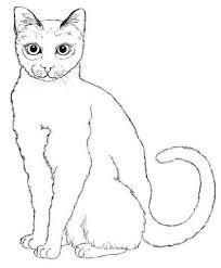 Deftige Kat Kleurplaat Gratis Kleurplaten Printen