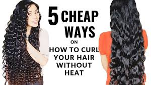 hair without heat beautyklove