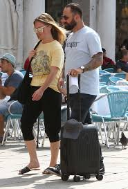 Julia Stiles and her husband Preston J. Cook - Spotted in Venice -17 |  GotCeleb