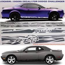 Sticker Stripes For Dodge Challenger Srt Decals Challenger Stickers