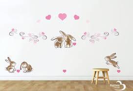 Love Bunnies Wall Decal Sticker Full Set