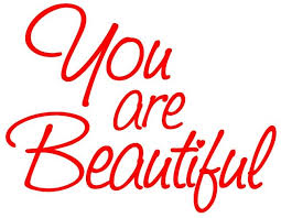 Amazon Com Stickerbrand You Are Beautiful Motivational Self Esteem Quote Wall Decals Sticker For Mirror Windows Or Walls Decoration Decor 6083s 6x8 Red Arts Crafts Sewing