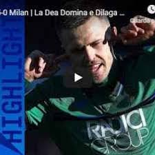 Atalanta - Milan 5-0 - Guarda Gol e Highlights - VIDEO (Atalanta)