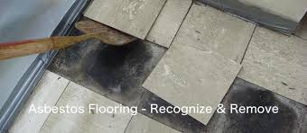 asbestos flooring recognize and