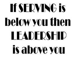 If Serving Is Below You Then Leadership Is Above You Vinyl Wall Decal Sticker Ebay