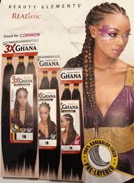 100 kanekalon 3x ghana braid