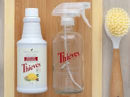 7 diy cleaners with thieves household