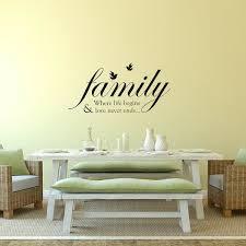 Shop Walplus Home Family Bird Quote Wall Sticker Home Decor Art Wall Decal Overstock 31770385