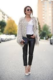 pair of leather pants