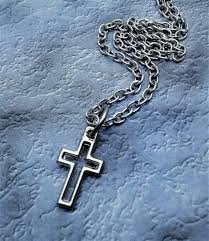 tiny 1 2 inch cross necklace aftcra