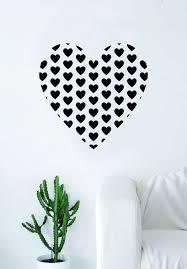 Heart Full Of Hearts Wall Decal Sticker Room Art Vinyl Beautiful Decor Boop Decals