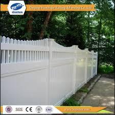 vinyl privacy decorative garden fence