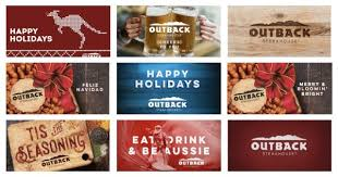 outback steakhouse gift card 10 free