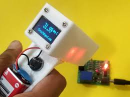 diy infrared thermometer using arduino