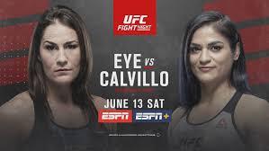 UFC headliner Jessica Eye attributes missing weight in last fight to  menstruation   KSNV