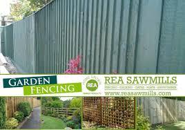 Garden Fencing Rea Sawmills