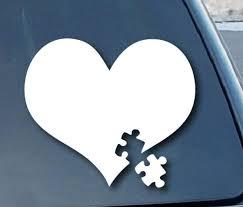 Autism Awareness Puzzle Car Window Decal Sticker Custom Sticker Shop