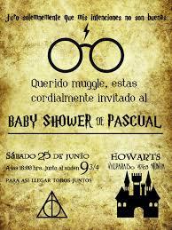 Invitacion Baby Shower Harry Potter Theme Invitaciones