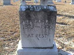 Julia Ada Howard Gordie (1873-1946) - Find A Grave Memorial