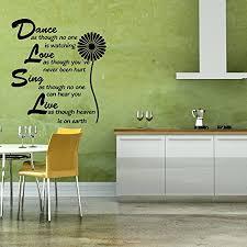 Dance Singe Live Vinyl Decal Home Wall Decor