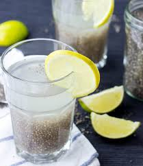 a natural chia seed energy drink
