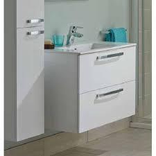 600mm 2 drawer wall hung vanity unit