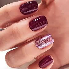 30 stunning burgundy nails designs