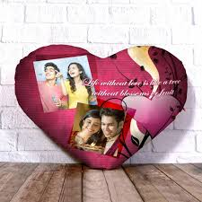 buy or send personalized heart shape cushion love quotes