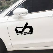 17 4 13cm Car Sticker Deaf Bonce Auto Sticker Car Styling Removable Ey 149 Car Stickers Aliexpress