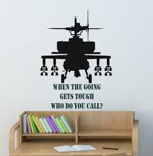 Soldier Wall Decal Boys Name Sticker Teen Boys Room Etsy