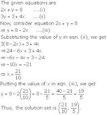 chapter 8 simultaneous linear equations