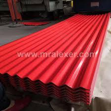 coated surface treatment ppgi