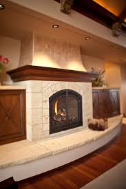 fireplace heart design and material