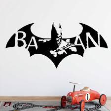 Amusing Batman Wall Art Sticker For Children S Room Modern Wall Decals Batman Vinyls Stickers Vinyl Art Decals Wall Stickers Aliexpress