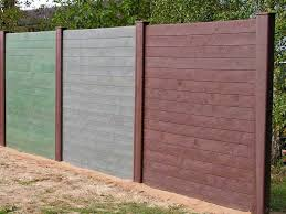 Recycled Mixed Plastic Mid Section Post For View Protection Wall 160 X 120mm Trade