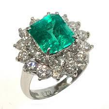 ジュエリー エメラルド ダイヤモンド リング 指輪 2101215418074の通販 ...