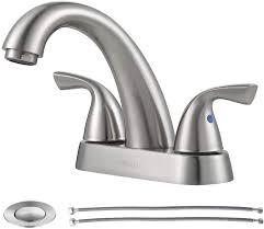 parlos 2 handle bathroom sink faucet