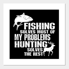 fishing hunting shirt gifts for