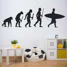 Surfing Evolution Surfboard Wall Decal Sticker Ws 42981 Ebay