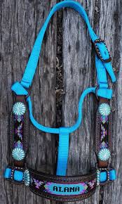 most awesome personalized horse halters